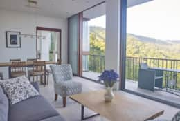 Narra Hill Premier 2 Bedroom Suite Living Area and Private Balcony