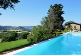 The Umbrian Villa and its surroundings