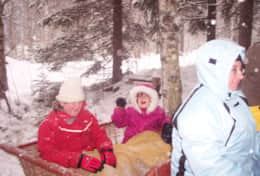 K45 Mackenzie Cottage - Sometimes they even have horse sleigh rides at the skiing