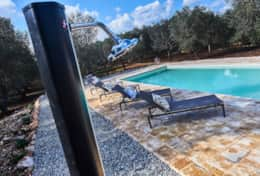 Villa Teia stunning cottage for vacation with heated pool in Ostuni Puglia  - 43