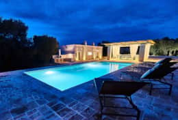 Villa Teia stunning cottage for vacation with heated pool in Ostuni Puglia  - 48