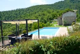 Pool and cottage
