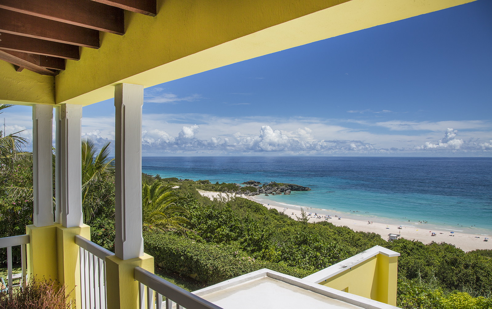 Views Of The Ocean c111. horseshoe bay home with pool and ocean views - villa in