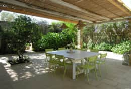 Casino Pisanelli - courtyard with dining area - Ruffano - Salento