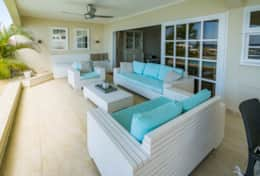 outside lounge area