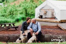 Asheville Glamping - Tent cabin- Images by Amber Photography