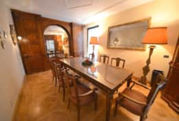 Gorgeous dining area with precious seatings to enjoy your Italian meals