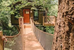 Asheville Glamping Tree House